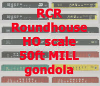 RCR - HO 50FT MILL GONDOLA  -  C&NW 350100