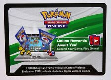 Pokemon 36X Crimson Invasion, Online codes not played- By email-Fast