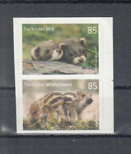 Germany 2017 **/ MNH - Animal babies: Baby Animals: Wild boar, Iltis skl