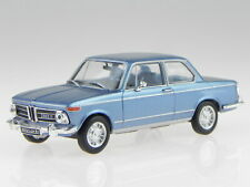 BMW e10 2002 ti 1968 blue metallic diecast modelcar WB295 Whitebox 1:43
