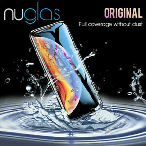 NUGLAS 3D Full Tempered Glass Screen Protector For iPhone XS Max XR X 8 7 Plus