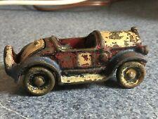 ORIGINAL ANTIQUE KILGORE CAST IRON ROADSTER CAR TRUCK AUTOMOBILE TOY
