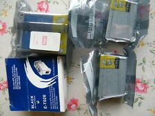 3 NEW Epson ink cartridges.2 x Black E2026.1 x Triple Color E2027, unopened.