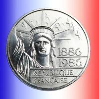 Pièce en Argent France 100 Francs Liberté 1986 + Capsule Gratuite