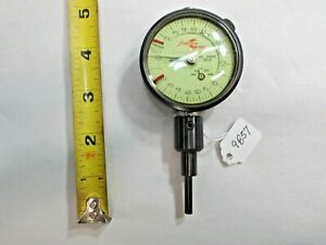 """Johnson Gage Machinists Dial Indicator, Made by Federal Products, .00025"""", USA"""