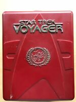 STAR TREK Voyager - SEASON 1 - Rare UK DVD Moulded Plastic Box Set