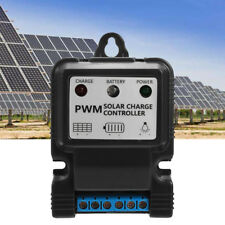 UK 11.1V 5A PWM Solar Panel Battery Regulator Intelligent Charge Controller