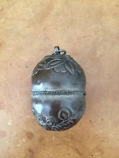 Very Old Antique Handmade Chinese Antique Silver Bell, It Still Rings.