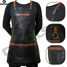 Professional Luxury Pu Leather Hairdressing Apron Cape Barber Salon Hairstylist