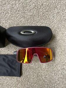 Oakley Sutro Sunglasses, Prizm Ruby Lens, Matte Vampirella Frame