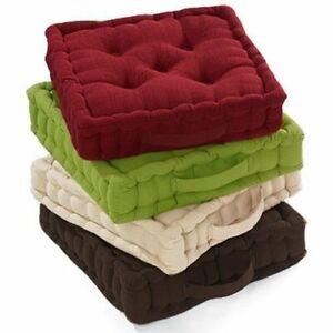 GARDEN Armchair Booster Cushion Seat Pad Floor Chair Riser SOFT Cushion ADULTS