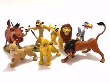 7 Pcs Disney TOMY Japan Choco Egg Complete Normal Set Lion King Mini Figure Toy