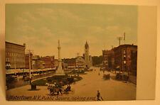1908? Watertown, N.Y. Postcard of Public Square