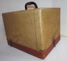 "Vintage 1950's TDC Vivid Movie Projector Case Empty CASE ONLY 15"" x 12.5"" x 11"""
