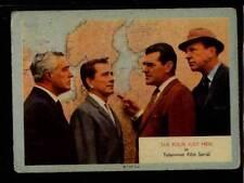 (Gg295-348) A & BC Gum, Who-Z-At-Star?, #66 The Four Just Men 1958 G-VG