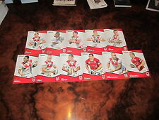 2014 NRL TRADERS ST GEORGE ILLAWARRA DRAGONS COMMON TEAM SET 11 CARDS MORRIS