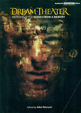 "DREAM THEATRE ""METROPOLIS PT 2 SCENES FROM A MEMORY"" TAB EDITION"