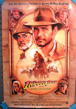 "Indiana Jones & Last Crusade Original 1-Sheet Movie Poster 27""x40""- Rolled"