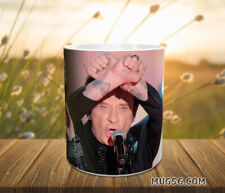 Mug johnny hallyday #208 tasse personnalisable