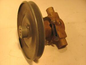 "JABSCO 18830-1020  ENGINE COOLING  PUMP  1 "" i.d.  inlet and outlet  GLASTRON"
