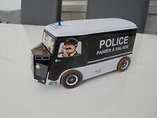 CITROEN HY POLICE - PANIER A SALADE - BOITE A GATEAUX METAL BOX VAN TUBE CAMION
