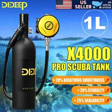 Dideep 1L Scuba Tank Diving Cylinder Oxygen Air Reserve Underwater Equipment
