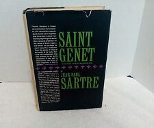 Saint Genet Actor and Martyr by Jean-Paul Sartre, 2nd printing, 1963, HC, DJ