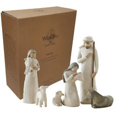 Willow Tree Christmas Nativity Figurines Gift Boxed