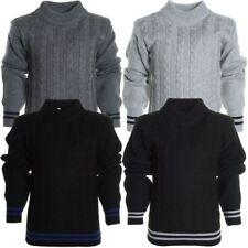 Jungen-Pullover & -Strickwaren Größe 104 mit Rundhals aus Polyester