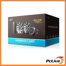 DeepCool GAMMAXX L240T RED Liquid CPU Cooler INTEL 1200 1151 1366 2066 AMD AM4