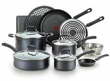 Forged Aluminum Non-Stick Cookware 14-Piece Set: T-fal