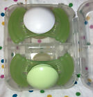 Mam+Teether+Baby+Silicone+Pacifiers+Green%2FWhite+-Adorable%21%21+RARE%21%21
