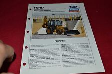 Ford Tractor 555C 555C Turbo Backhoe  Dealer's Brochure YABE14
