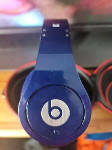 MONSTER BEATS STUDIO by DR DRE wired Headphones – Blue