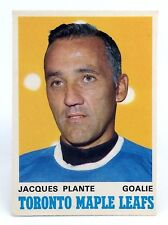 1969-70 Jacques Plante #222 Toronto Maple Leafs OPC O-Pee-Chee Hockey Card H453