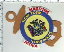 New York State Police 1st Issue Maritime Patrol Shoulder Patch