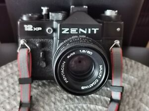 ZENIT 12xp Spiegelreflex Kamera , Pentacon 1.8/50 objektiv