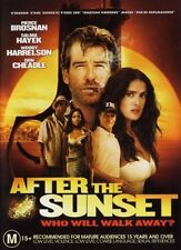 AFTER THE SUNSET Pierce Brosnan & Salma Hayek DVD NEW