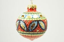 Palla di Natale in ceramica di Deruta - Christmas Ball Ornaments (Made in Italy)