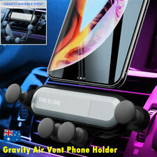Gravity Car Phone Holder Air Vent Mount 360° Stand Cradle For iPhone Samsung GPS