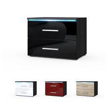 Nachttische & Nachtkonsolen mit 2 Schubladen aus MDF -/Spanplatten