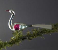 Vintage Bird on clip - Glass Ornament, ca. 1930 (# 10338)