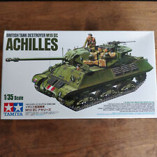 TAMIYA 1/35 British Tank Destroyer M10 IIC Achilles Military miniature series