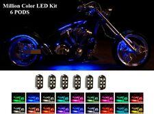 H.D LED Bright UnderGlow Neon Lights Pod Kit for Suzuki GSX-R1000 Motorcycles