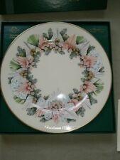 Lenox Ltd Edition Colonial Christmas Wreath Series 1993 Plate w/Box