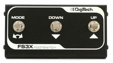 Digitech Optional 3 Button Footswitch for JamMan Solo XT Stereo Loop Pedal, FS3X