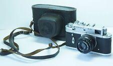 KMZ ZORKI-4K 35mm Rangefinder Film Camera with Industar- 50 Lens.F3.5/50 mm