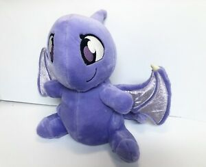 "12"" Purple Shoyru Talking Plush Neopets"