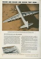 1945 Air Transport Magazine Ad Convair Model 37 Passenger Transport B-36