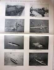 1921 Salvage Of The Italian Battleship Leonardo Da Vinci